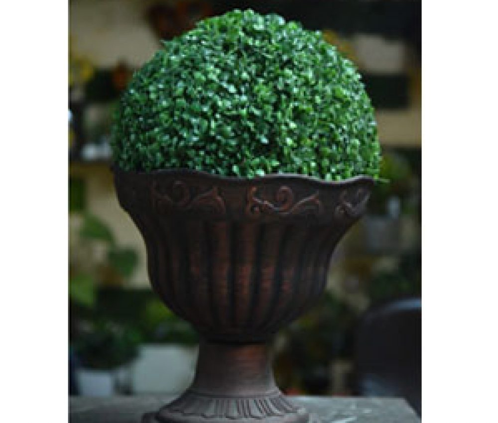 Green-ball-with-pot